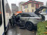 Bremgarten AG: Unfall zwischen Auto und Bahn