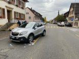 Unfall Stein AG - Mit erheblicher Wucht weggeschleudert und schwer verletzt