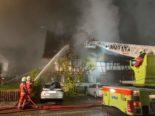 Höri ZH - Denkmalgeschütztes Wohn- und Geschäftshaus in Brand geraten