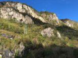 Cama GR - Beim Klettern von Steinschlag getroffen: Eine schwer Verletzte