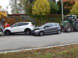 Solothurn: Unfall mit vier Fahrzeugen
