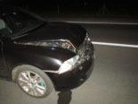 Unfall Mitlödi - Auffahrkollision nach Wildtierunfall