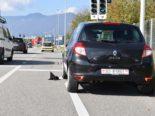 Zuchwil SO - Lieferwagen entfernt sich unerlaubt nach Unfall