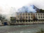 Glarus - Brand in Textilbetrieb: 100 Personen im Einsatz