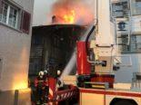 Mollis GL - 120 Personen bei Brand in Wohnhaus im Einsatz