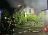 Haus nach Brand in Wolfwil SO beschädigt
