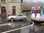 Unfall Glarus - Velofahrer verletzt