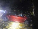 Unfall Boningen SO: Frontalkollision mit Baum