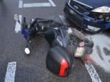 Grenchen SO - Rollerfahrerin bei Unfall verletzt