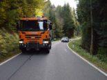 Walzenhausen AR - Unfall zwischen Auto und Lastwagen