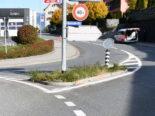 Chur GR - Unfall mit Velomobil im Kreisel