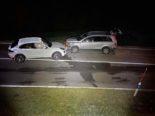 Unfall Menzingen ZG - Totalschaden bei drei Autos