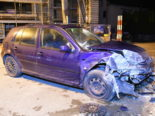 Unfall Benken SG - Fahrunfähiger Lenker prallt in Hausmauer