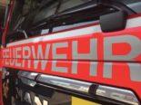 Schaffhausen SH - Feuer in Mehrfamilienhaus an der Feldstrasse