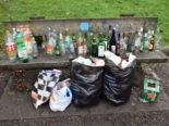 Kriens LU - Spielplatz mit Abfall verwüstet