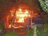 Luzern - Gasheizgerät verursacht Brand