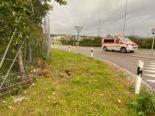 Steinhausen ZG - Fahrer flüchtet nach Unfall und wird von Polizei erwischt