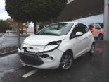 Unfall Rheineck SG - Lenker (19) in Heck von Autofahrerin (29) geprallt