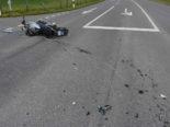 Vilters SG: Motorradfahrer bei Unfall schwer verletzt
