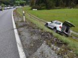 Schiers GR - Unfall zwischen zwei Autos auf der A28