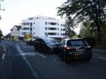 Wittenbach SG - Unfall mit vier involvierten Autos