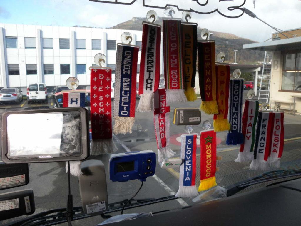 A1, Kanton Solothurn: Sicht durch Frontscheibe sehr stark eingeschränkt