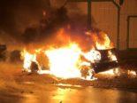 Warth TG - Auto geht in Flammen auf