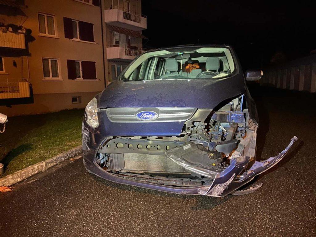 Bad Zurzach AG: Während Irrfahrt mehrere Unfälle gebaut