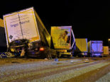 Unfall A1 Kölliken AG - Lenker (22) stirbt vor Ort