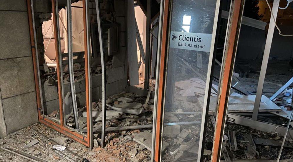 Küttigen AG: Bankomat bei der Clientis Bank aufgesprengt