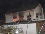 Balsthal SO: Gebäudebrand