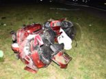 Unfall A1 Oensingen SO - Totalschaden und Einweisung ins Spital
