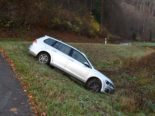 Unfall Tecknau BL - Ausgestiegen und betrunken nach Hause gelaufen