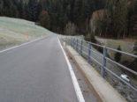 Unfall Trogen - Automobilistin (22) auf vereister Fahrbahn ins Schleudern geraten