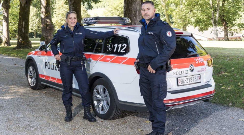 Liestal BL - Polizei in neuem Kleid