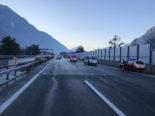 """""""Helfer"""" wird auf der Autobahn A9 von Auto erfasst"""