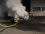 Salez SG: Lieferwagen brennt zum zweiten Mal