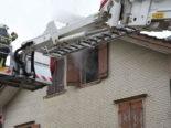 Oberbüren SG - Brand in Einfamilienhaus ausgebrochen