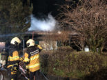 Gross SZ: Ferienhaus in Brand geraten