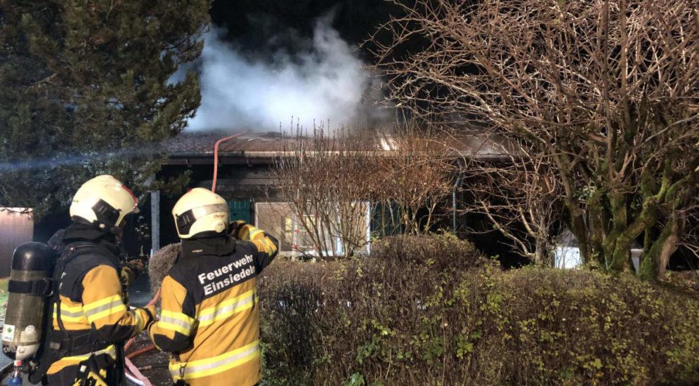 Gross SZ: Ferienhaus in Brand geraten