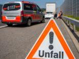 Schenkon LU: Unfall zwischen Sattelmotorfahrzeug und Postauto