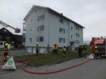 Diepoldsau SG: Wohnung in Brand geraten