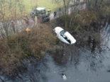 Zuzwil SG: Autolenkerin landet bei Unfall im Fluss