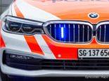 Arbeitsunfall Ganterschwil SG - Mann stürzt aus über 5 Metern Höhe von Baum