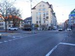 Unfall St.Gallen SG - Auffahrkollision beim Abbiegen