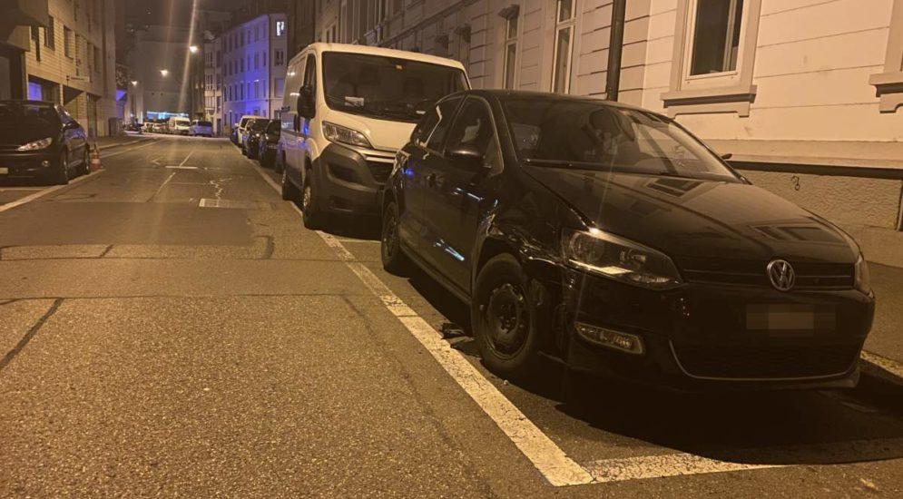 Basel: Unfallverursacher macht sich davon
