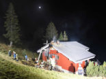 Rigi Scheidegg SZ - Haus in Brand geraten