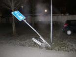 """Appenzell AI: Autolenkerin fährt mit Pickup über diverse """"Hindernisse"""""""