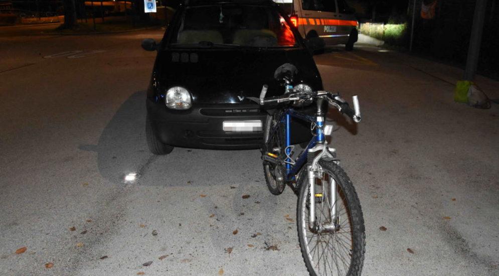Flawil: Unfall zwischen Auto und Velo: Zweimal nicht fahrfähig