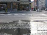 Uster ZH: Strassensperre wegen Wasserrohrbruch